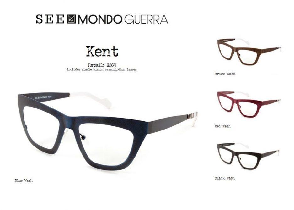Mondo Guerra designs eyewear collection for SEE – The ...