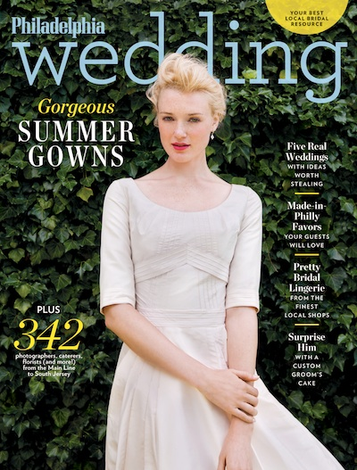 The spring/summer 2014 issue of Philadelphia Wedding will be on newsstands Monday, December 9th!