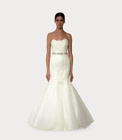 Look 7 from the 2014 Bliss by Monique Lhuillier collection; photo courtesy of the designer.