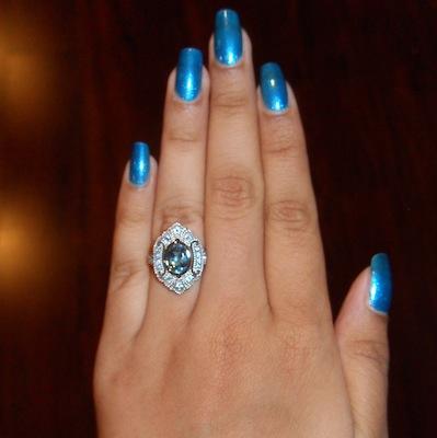 Caroline's ring!