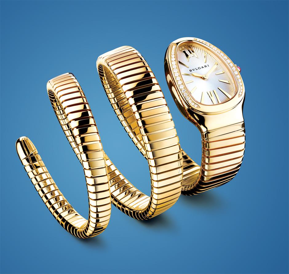 snake charmer Bulgari bracelet