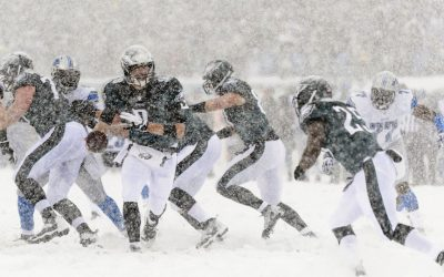 Dec 8, 2013; Philadelphia, PA, USA; Philadelphia Eagles quarterback Nick Foles (9) hands off to running back LeSean McCoy (25) during the second quarter against the Detroit Lions at Lincoln Financial Field. Photo | Howard Smith-USA TODAY Sports