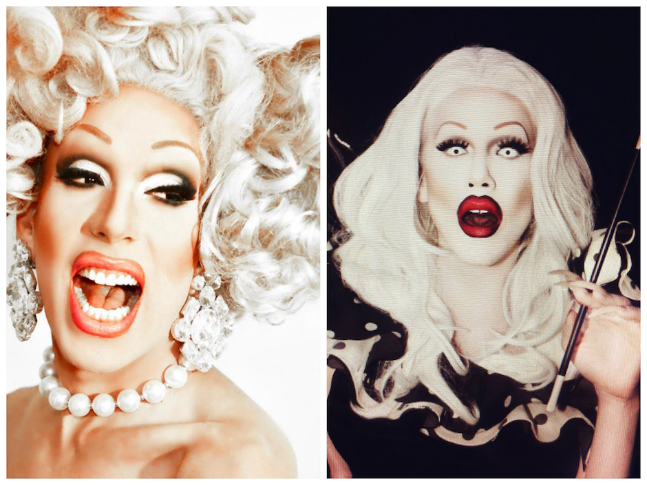 RuPaul's Drag Race icons Alaska Thunderfuck and Sharon Needles call it splits.