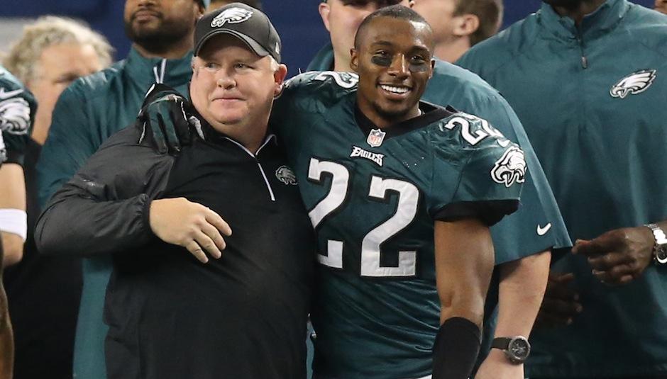 Riddick Eagles Pulling Away From Division Philadelphia