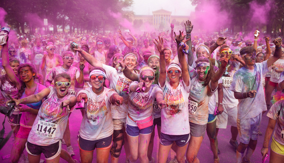 Photo courtesy the Color Run