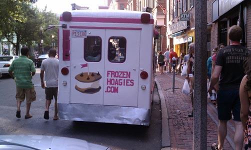 frozen hoagie