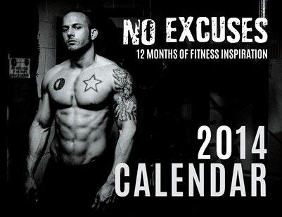 gym inspiration calendar patrick mark