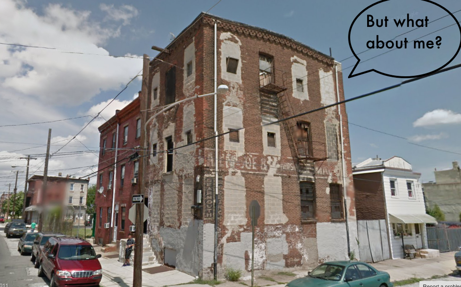 Google Street View of the lonely warehouse.