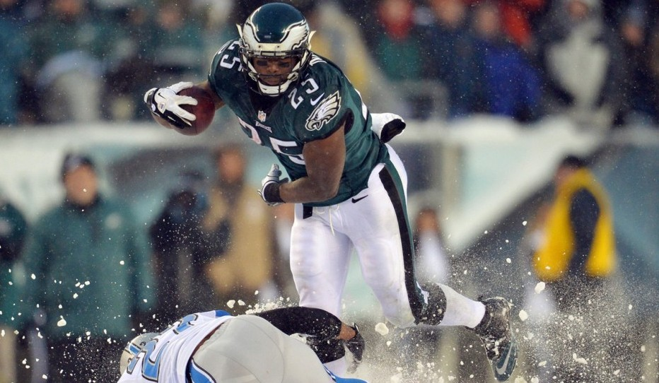 With 217 rushing yards LeSean McCoy broke the Eagles' all-time record set by Steve Van Buren in 1949