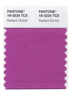 Pantone's 2014 Color of the Year is: Radiant Orchid!