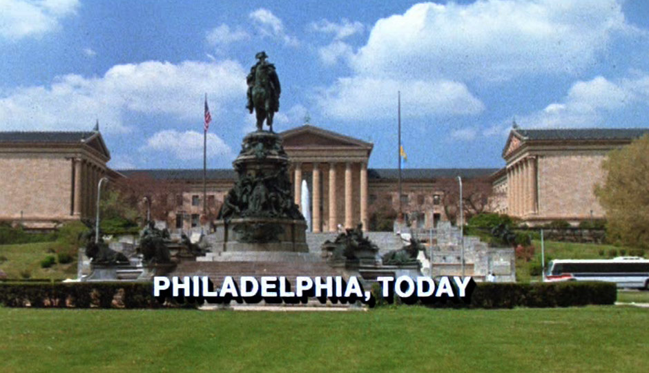 Philadelphia Art Museum — check the SEPTA bus on the side