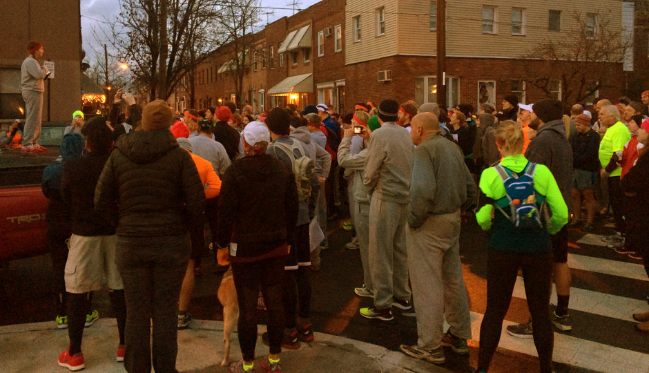 Rocky runners get ready in South Philly