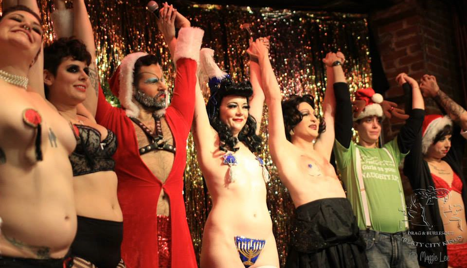Liberty City Kings Drag and Burlesque will bring in the New Year with sparkle and lots of skin at Tabu.