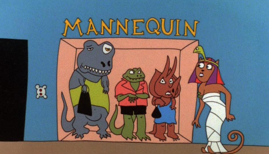 Mannequin title card