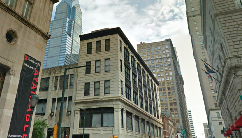 The Walnut Street building purchased by PREIT once boasted Louis Kahn as a tenant.