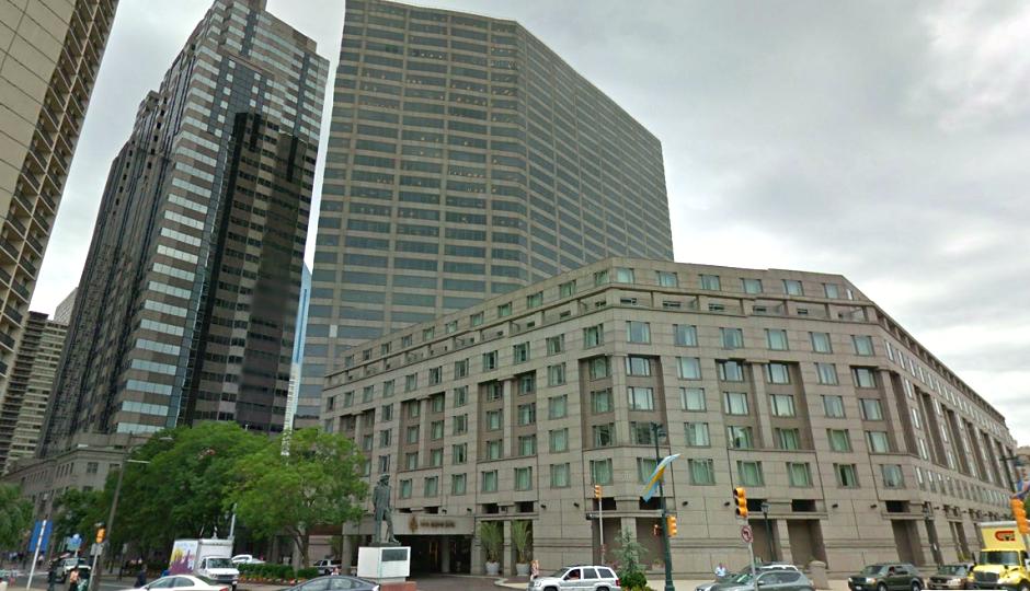 Screenshot of the Four Seasons at Logan Square via Google Street View