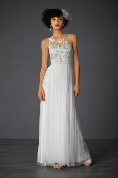 BHLDN's Elysium gown, originally $2,400; priced at $300 for the sample sale.