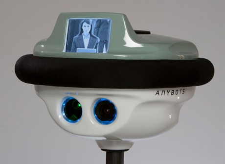 This little dude can wander around your wedding and live stream it to guests who can't attend. Photo via anybots.com.