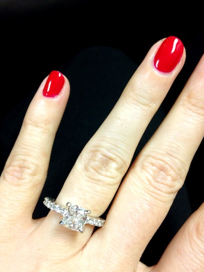 Sarah's ring!