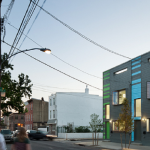 """Side view of another building on Amber Street by Postgreen Homes. Photo credit: < href=""""http://postgreen.com/projects/passive-project/"""">Postgreen Homes."""