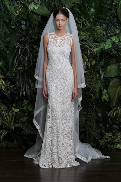 Valencia by Naeem Khan, debuting at the Wedding Shoppe this week. All photos courtesy of the designer.