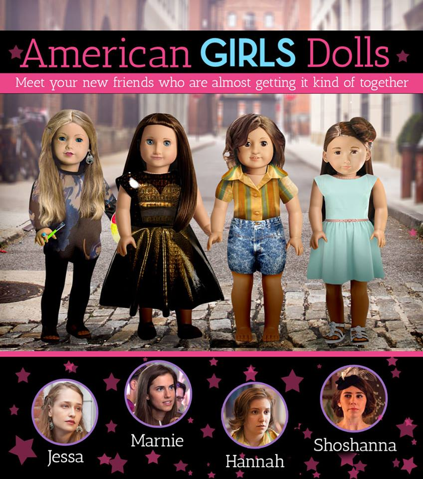 american girls girls hbo