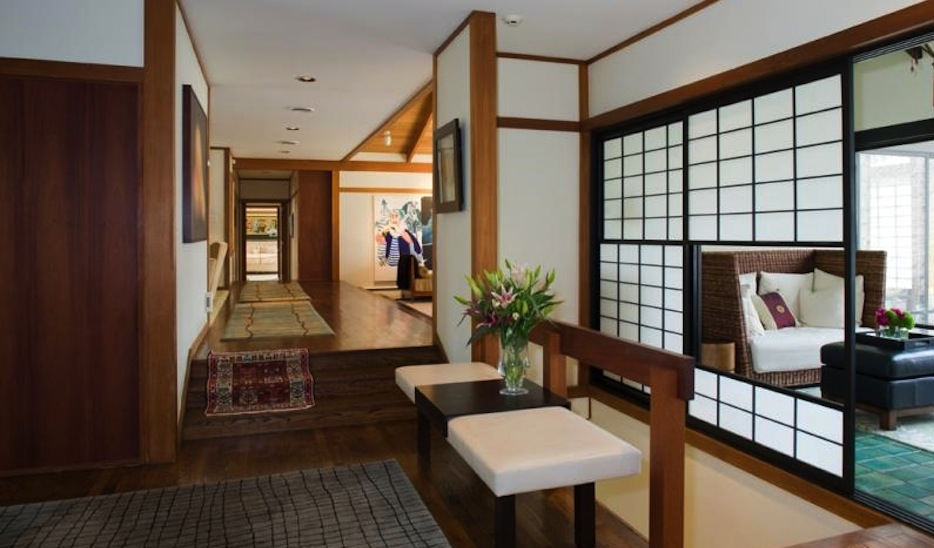 Sold unique japanese inspired home in villanova fetches Japanese inspired room design