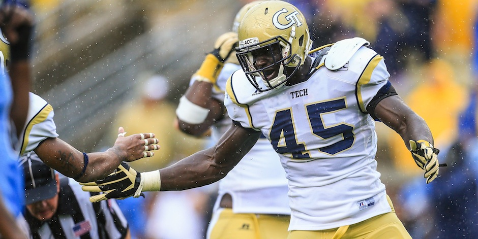 NCAA Football: North Carolina at Georgia Tech