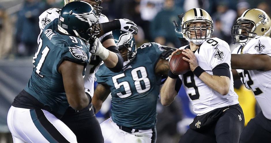 NFL: NFC Wildcard Playoff-New Orleans Saints at Philadelphia Eagles