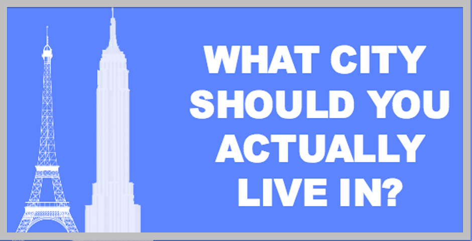 Quiz Should You Really Be Living In Philadelphia Or