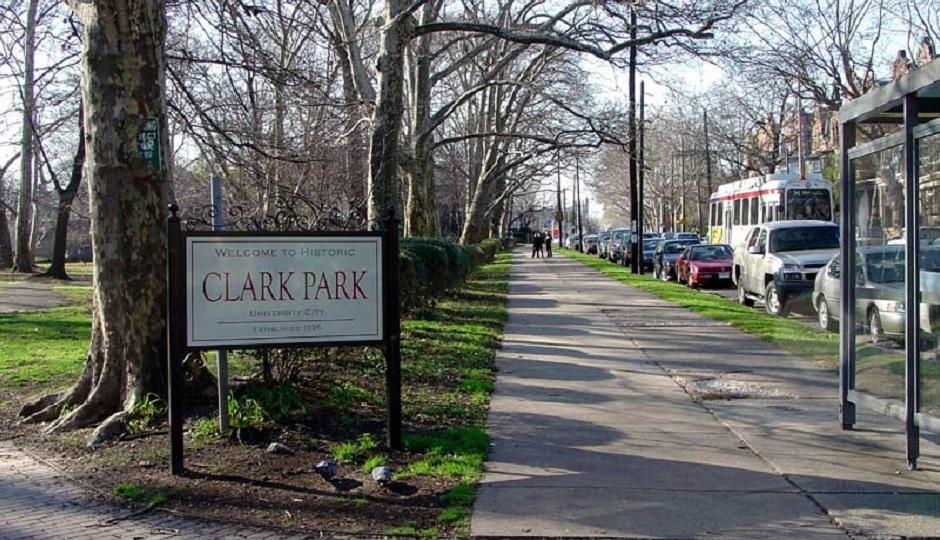 Clark Park Photo credit: Bradley Maule via Hidden City