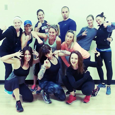 Instructors at Fit Fire Studios // Photo via Facebook