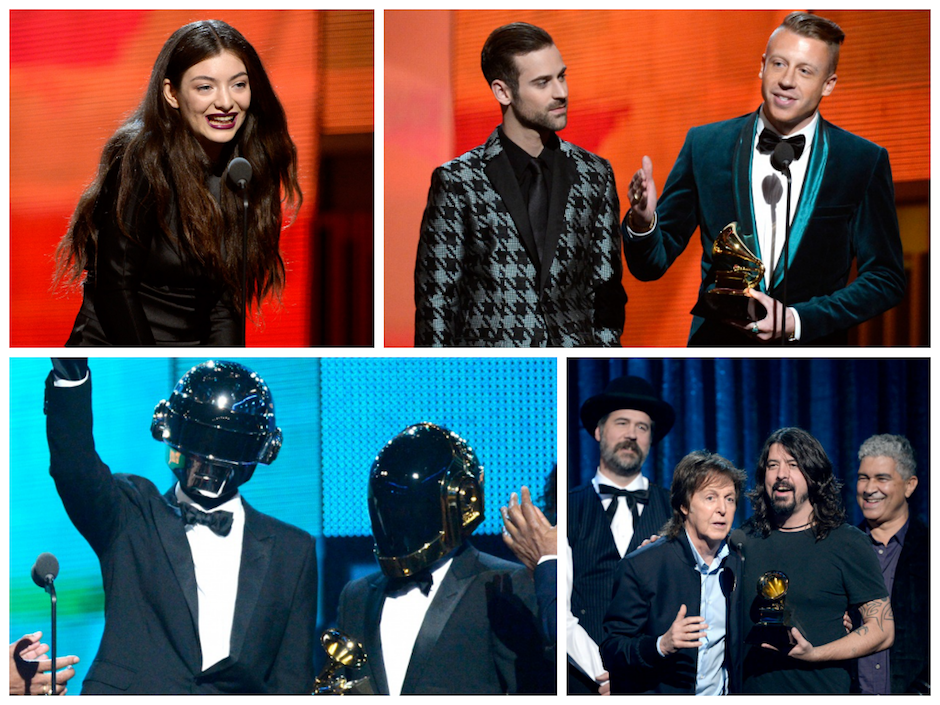 grammy winners list 2014