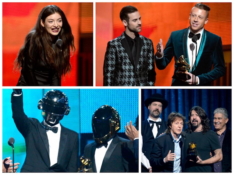 grammy winners list 2014