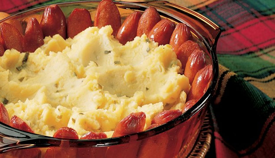 We bet Hot Diggity's hot dog casserole will be more appealing.