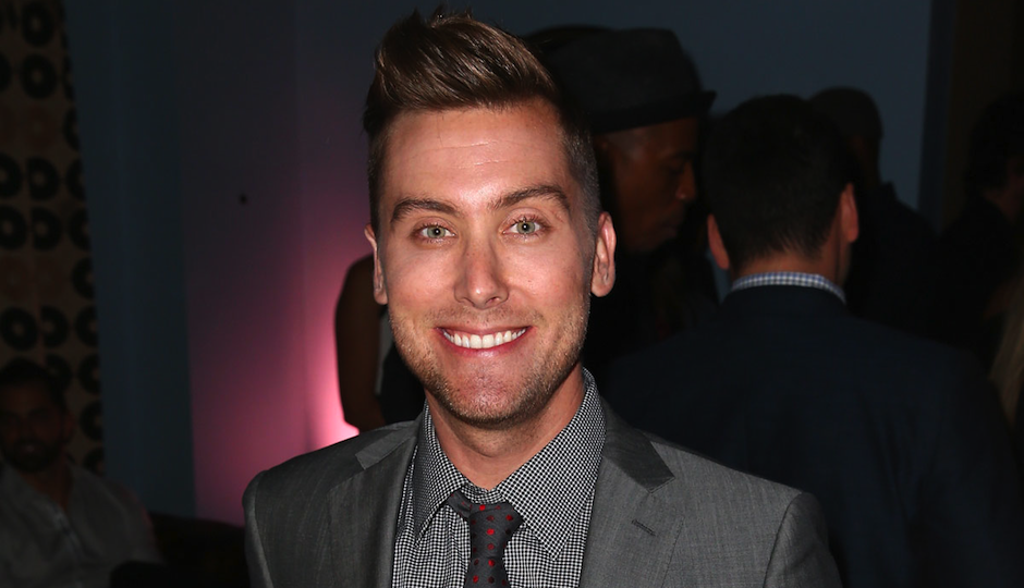 lance bass new single walking on air