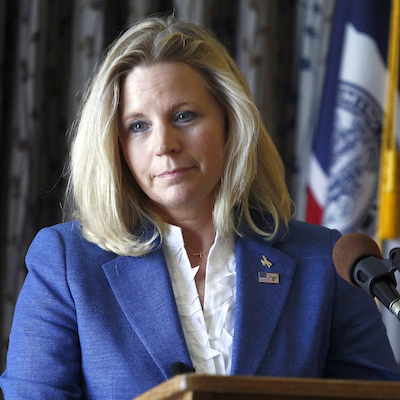 Liz Cheney has decided to drop out of the Wyoming Senate race. Click photo for more on the story.