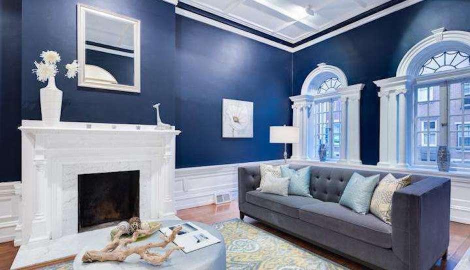 Home Design Trends 2014 Navy Blue Rooms Philadelphia