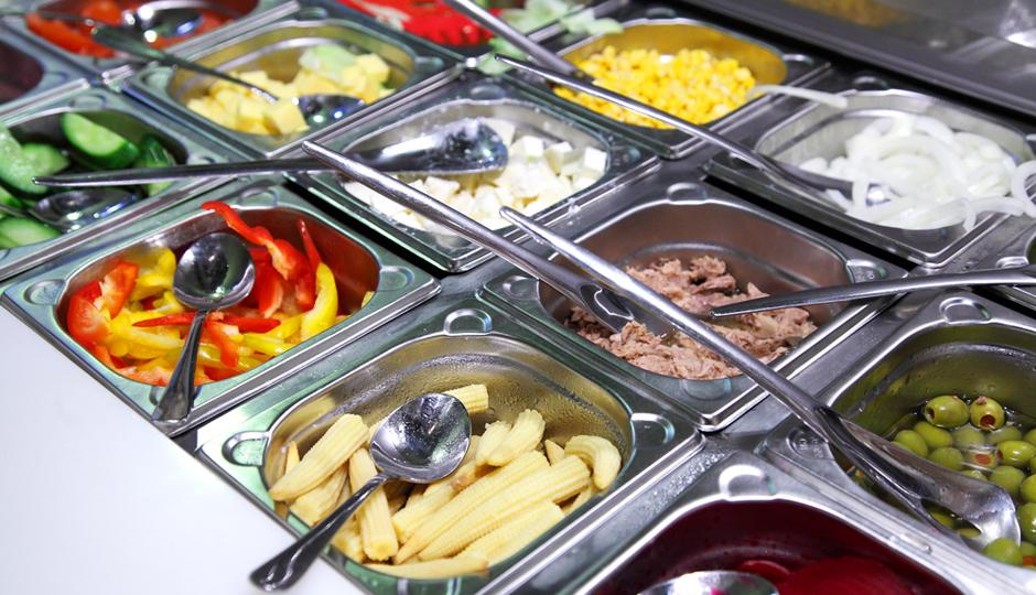 Фото и описание тепловых салат баров