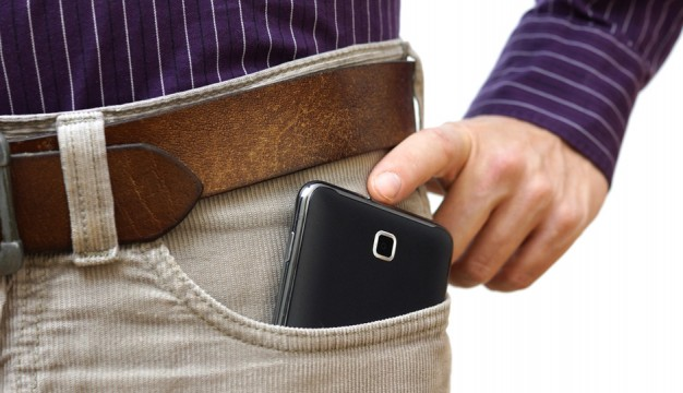 Is that a phablet in your pocket? Photo   Shutterstock.com