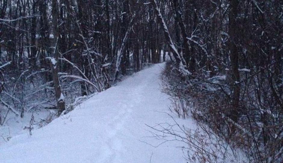 Hercules snowy path