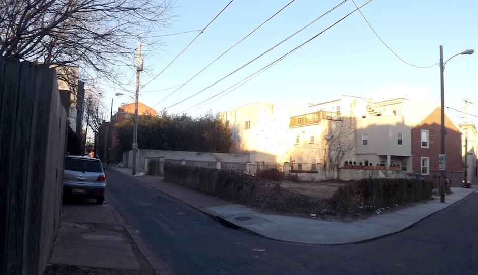 Photo of the lot where the development is planned by Sandy Smith.
