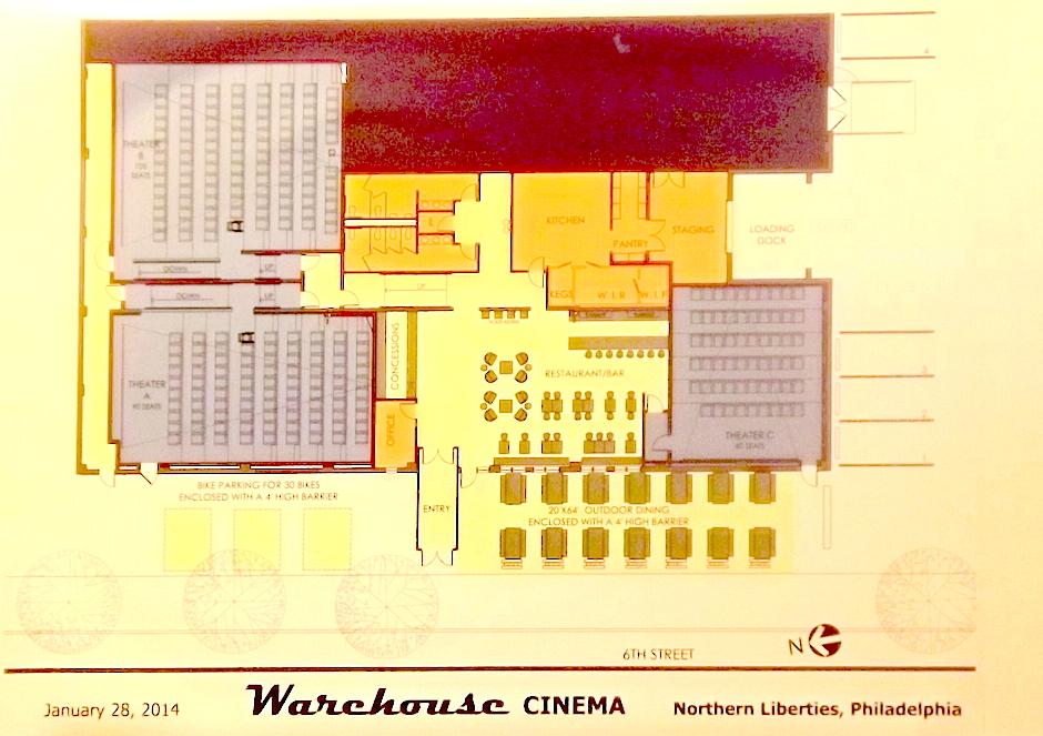 tla warehouse cinema floorplan