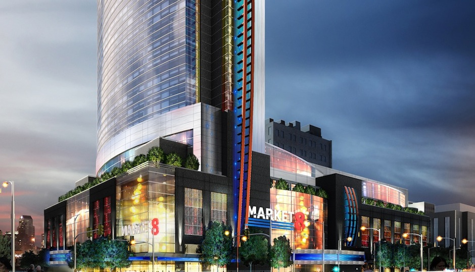 Rendering of Market8.
