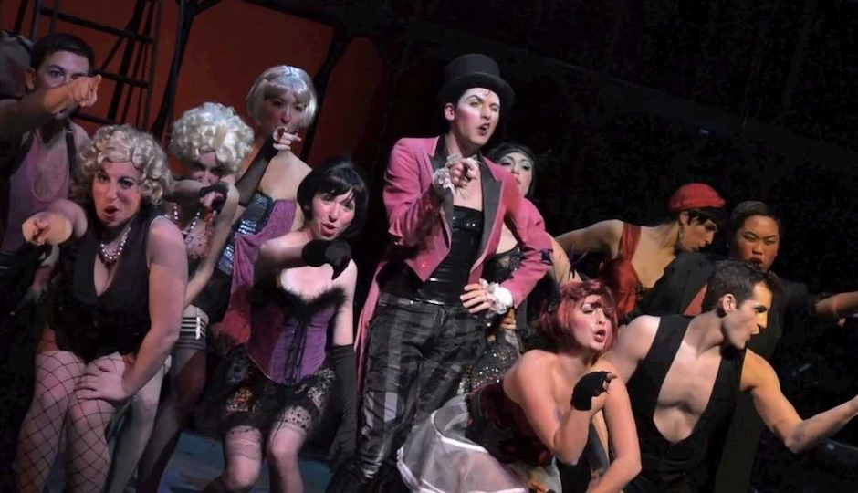 "West Chester University Department of Theatre and Dance presents ""Cabaret."""