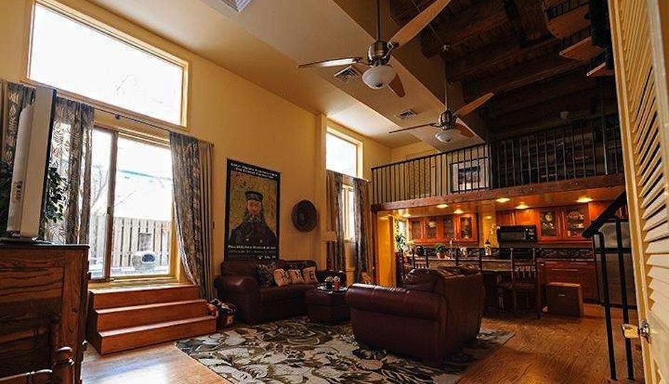 Interior shot of 313 Fulton Street, Philadelphia, PA.