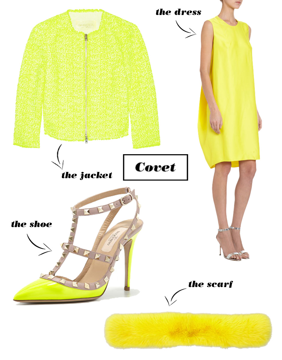 How To Wear Highlighter Yellow