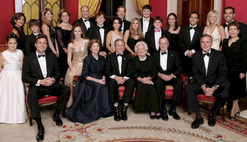 George_W._Bush_and_family