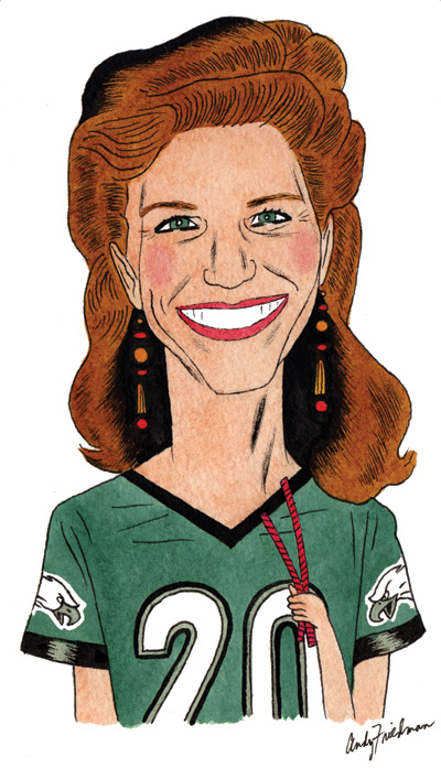 Eagles Owner Jeff Lurie's Ex Wife Christina Lurie