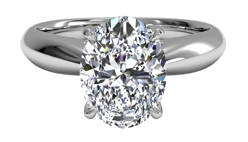 Feeling this ring? You can design it at Ritani.com, then ship it to a Philly jeweler to try it on before you pay for it.